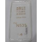 Funda Tpu Nokia Lumia N 535 Silicona Transparente Ultra Fina