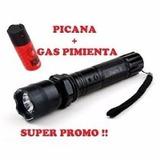 Linterna Picana Electrica + Gas Pimienta Super Oferta
