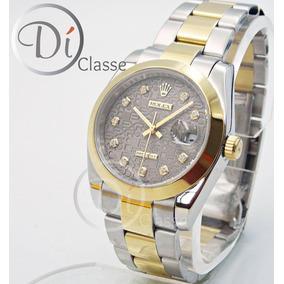 77a276ac06c Reloj Rolex Acero Inoxidable.cristal Estrellado Ofrezca - Reloj para ...