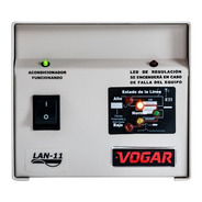 Regulador Electrónico De Voltaje Vogar® Monofásico 1 Kva