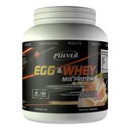 Mix Protein Pulver Mezcla De Huevo - Egg Y Whey - Suero De Leche Proteína 2 Kg Potenciada Con Aminoácidos