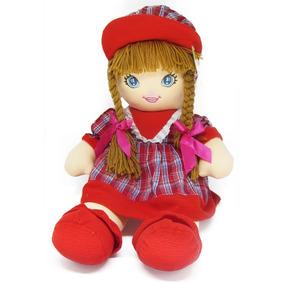 Boneca De Pano Fofy Toly Gg Promoção Brinquedo