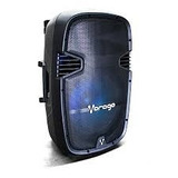Bafle Vorago Karaoke Tripie 2-mic Ksp-500 Bluetooth 100w