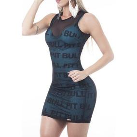 Pitbull Jeans Vestido Sexy Pit Bull 24588 Tam M Na Promoção