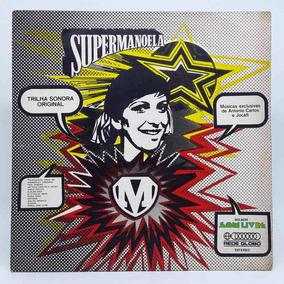 Lp - Disco De Vinil - Novela Nacional - Supermanoela - 1974