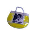 Bolsa De Mão Com Gel E Glitter Personalizada Com Sua Foto