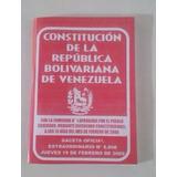 Constitucion De La Republica Bolivariana De V Mayor Y Detal