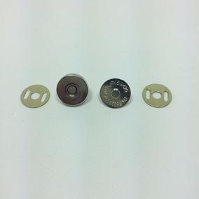 Botão Imantado Imã Magnético Niquelado 14mm Patchwork 100 Un