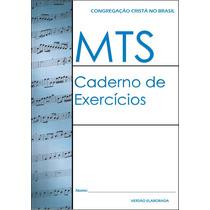 Mts Caderno De Exercicios Ccb C/ Testes Avaliação 12 Módulos