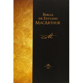 Biblia De Estudio Macarthur Pasta Rustica