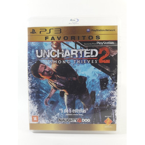 Jogo Uncharted 2 Favoritos Ps3 Seminovo