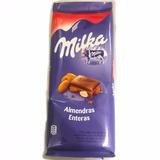 Tableta Milka Chocolate 155g Almendras Barata La Golosineria