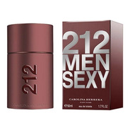 212 Sexy Men Carolina Herrera Eau De Toilette Masculino 50ml