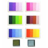 Cojín Gradual Para Huellas Tinta Scrapbooking Colores
