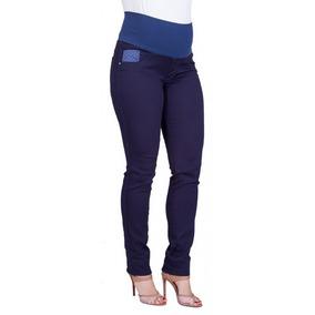 Calça Jeans Gestante Skinny Ivete Poa
