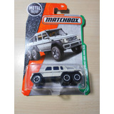 Auto Camioneta Matchbox Mercedes-benz G63 Amg 6x6