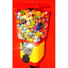 Maquina De Bolinhas Pula+pedestal+500bolinhas/ Kit Completo