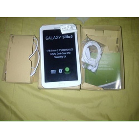 Samsung Tab 3, 7 Pulgadas Con Accesorios Original
