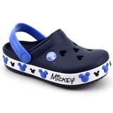 Crocs Crocband Infantil Mickey Iv Kids Azul Loja Pixolé