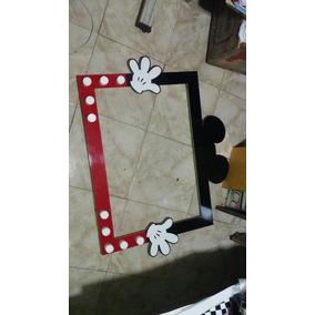 Cuadro Selfie Mickey Minnie