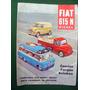 Brochure Catalogo Fiat 615 N Camion-furgon-autobus
