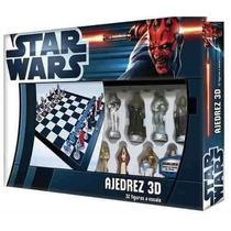 Ajedrez Star Wars Figuras 3d Collections Envío Gratis Promo