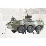 Tanque 6 X 6 Anfibio Militar Con Armas Y Soldados Tipo Gijoe