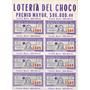 Billete De La Lotería Del Chocó 1966 Completo