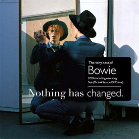 David Bowie Nothing Has Changed The Very Best Novo Cd Duplo