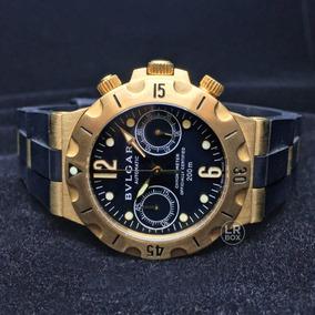 d8d007d2194 Relogio Bvlgari Scuba 38 Mmi De Luxo Masculino - Relógios De Pulso ...
