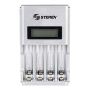 Cargador De Baterias Aa/aaa R2u Crg-200 C/pilas Steren