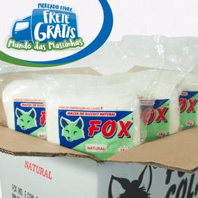 Caixa De Massa De Biscuit Fox 20kg