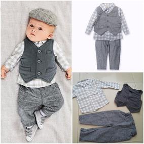 Ropa Infantil Para Niño Pantalón Chaleco Conjunto Elegante