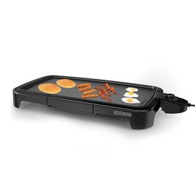 Plancha Electrica Black&decker 8 Porciones Parrilla Grill
