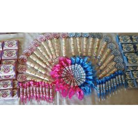 Candy Bar Personalizado Para 20 Chicos, 100 Golosinas