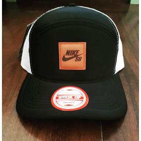Boné Nike Preto Rede Branca Snapback Trucker!!!