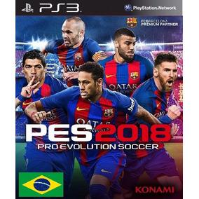 Pro Evolution Soccer Pes 2018 - Ps3 Mídia Digital
