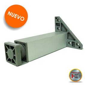 Pata Cuadrada 15cm Aluminio Anodizado 38x38 Para Mueble
