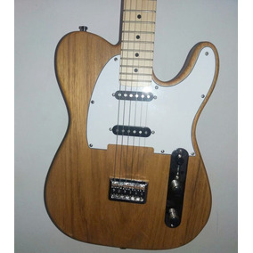 Telecaster Luthier Inteiriça Guitarra Maple Freijó Alnico 5