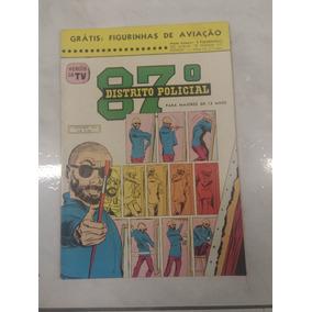 87º Distrito Policial - 1962 - Quadrinho Raro