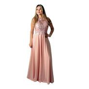Vestido De Festa Rose -  Madrinha, Casamento Formatura