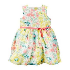 Carters Vestido De Crepe Niña 18 Meses