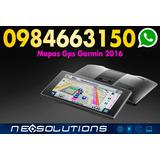 Mapas Gps Ecuador 2017 Garmin Nuvi Android Cc Quitus L. 495