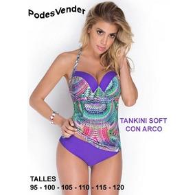 Malla Tankini Taza Soft Talles Grandes Y Especiales