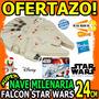 Wow Figura Star Wars Nave Milenaria The Force Awakens Hasbro
