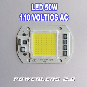 Chip Led 50w Smd Directo A 110v Reflectores Powerleds