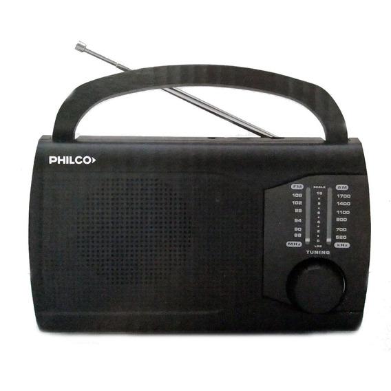 Philco Prm50 Radio Portatil Am/fm Facil Manejo 220/ Pilas