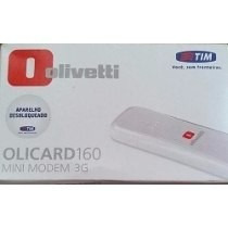 Mini Modem Olivetti 3g Tim Olicard 160 Branco (desbloqueado)