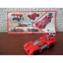 E8 Miniatura Kinder Joy - Carro Vermelho - Sprinty - Ff502