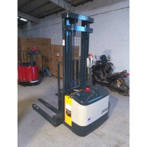 Montacarga Apilador Electrico Crown Cargador Incluido 110v